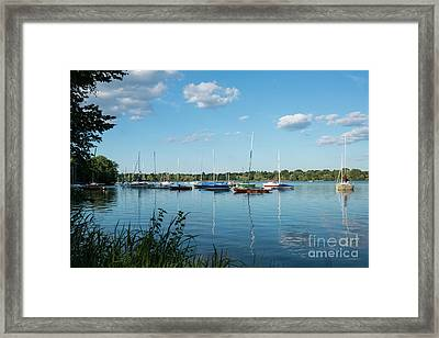 Lake Nokomis Minneapolis City Of Lakes Framed Print