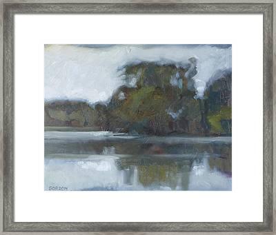 Lake Of The Isles Framed Print