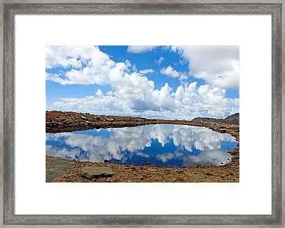 Lake Of The Sky Framed Print