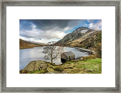 Lake Ogwen Snowdonia Framed Print