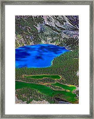Lake O'hara Framed Print by Steve Harrington
