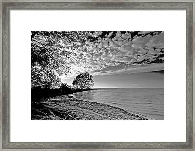 Lake Ontario. New York  Framed Print