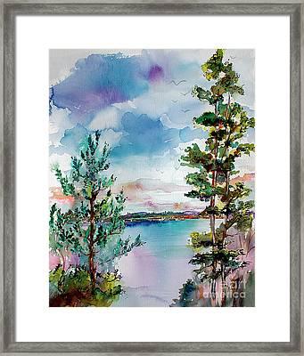 Lake Oswego Oregon Framed Print