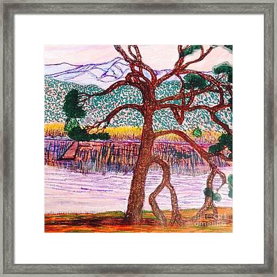 Lake Palmdale  Framed Print by Ishy Christine Degyansky