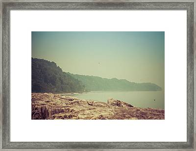 Framed Print featuring the photograph Lake Park Port Washington by Joel Witmeyer