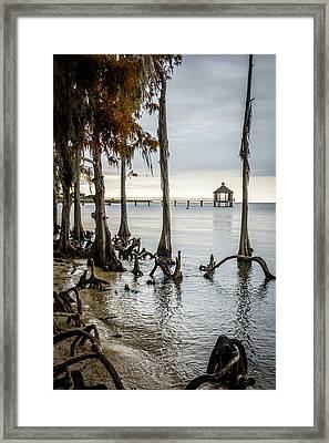 Lake Pontchartrain Uncropped Framed Print