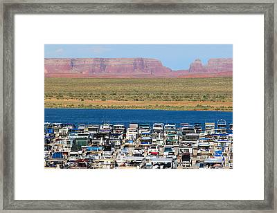 Lake Powell Arizona Framed Print