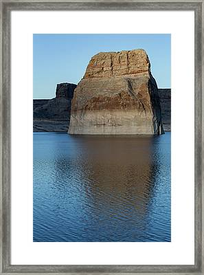 Lake Powell Monolith Framed Print