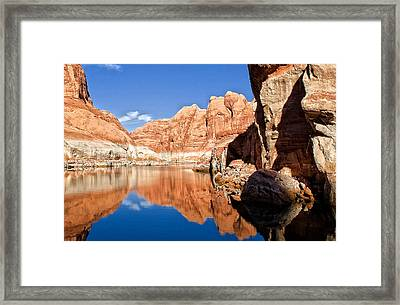 Lake Powell Framed Print by Wade Aiken