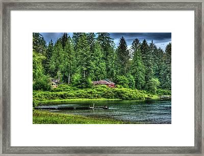 Lake Quinault 3 Framed Print