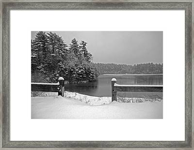 Lake Rico II Framed Print by Mark Wiley