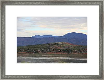 Lake Roosevelt 1 Framed Print