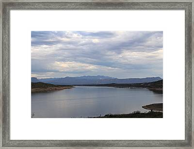 Lake Roosevelt 2 Framed Print
