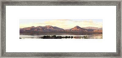 Lake Roosevelt Framed Print by Sharon Broucek