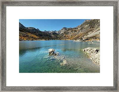 Framed Print featuring the photograph Lake Sabrina by Stuart Gordon