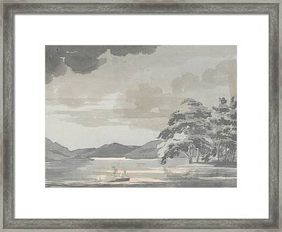 Lake Scene Framed Print by Paul Sandby