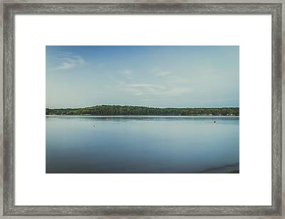 Lake Scene Framed Print by Scott Meyer