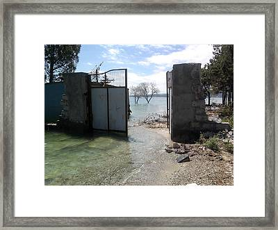 Lake Sevan Framed Print