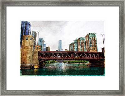 Lake Shore Drive Bridge View Framed Print by Alice Gipson