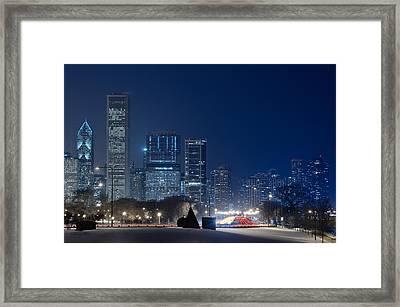 Lake Shore Drive Chicago Framed Print