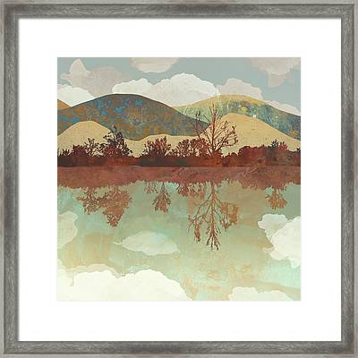 Lake Side Framed Print
