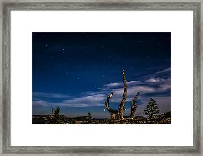 Lake Tahoe Big Dipper Framed Print by Pelo Blanco Photo