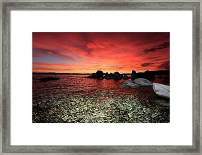 Lake Tahoe Liquid Dreams Framed Print