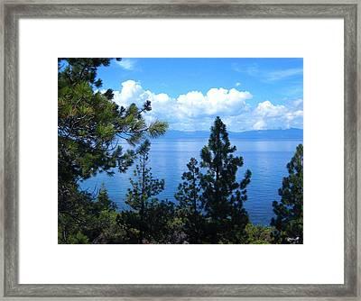 Lake Tahoe No. 51-1 Framed Print