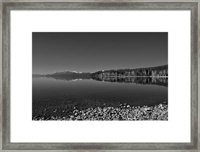 Lake Tahoe Reflections Framed Print