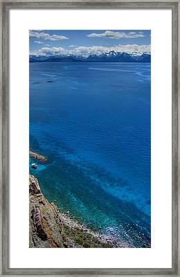 Lake Tahoe Sacred Lands Framed Print