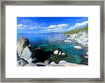 Lake Tahoe Summer Treasure Framed Print