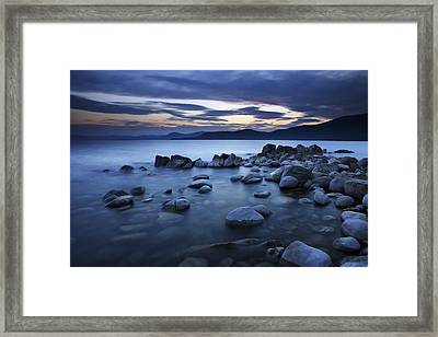 Lake Tahoe Sunset Framed Print