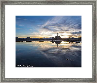Lake Tahoe Sunset Framed Print