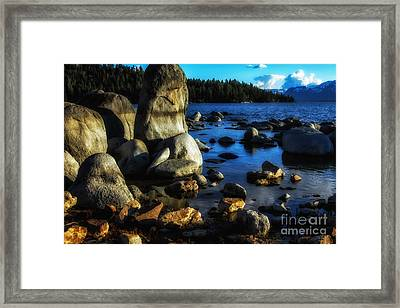 Lake Tahoe  Framed Print by Thomas R Fletcher