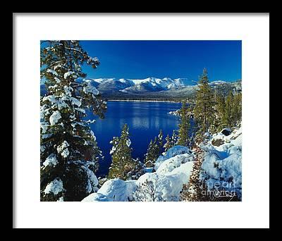 Lake Tahoe Photographs Framed Prints