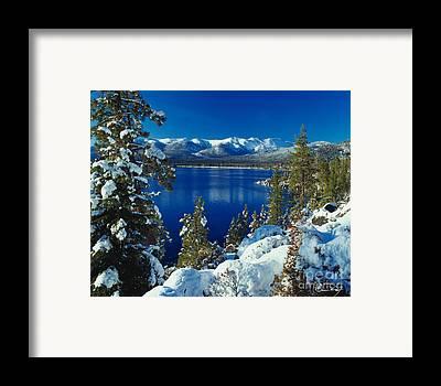 Lake Framed Prints
