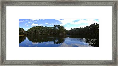 Lake Thomas Hilton Head Framed Print