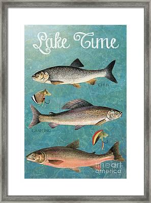 Lake Time-jp2785 Framed Print