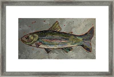 Lake Trout Framed Print