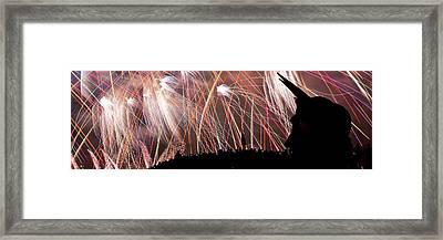 Lake Union July 4th Pb003 Framed Print by Yoshiki Nakamura