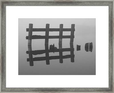 Framed Print featuring the photograph Lake Union Silhouette by Tom Vaughan