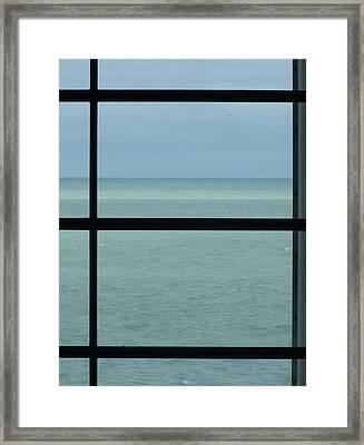 Lake View I Framed Print