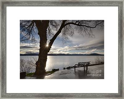 Lake View Framed Print by Idaho Scenic Images Linda Lantzy