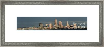 Lake View Of Cleveland  Framed Print by Frank  Cramer