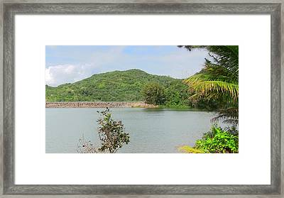 Lake View Framed Print