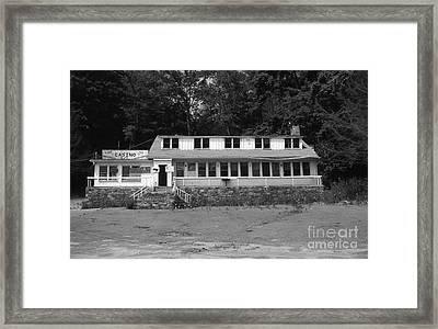 Lake Waramaug Casino Framed Print