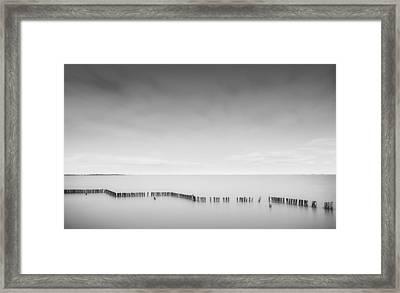Lake Wellington Framed Print by Mihai Florea