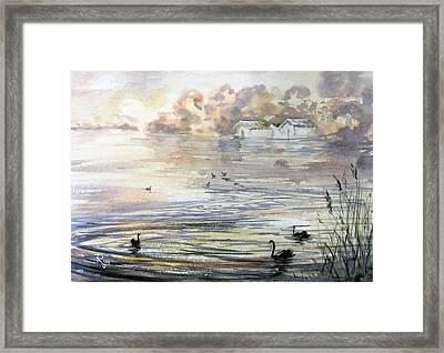 Lake Wendouree Framed Print