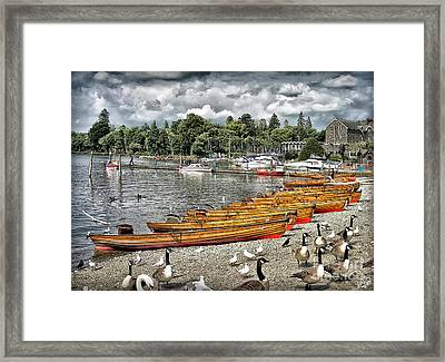 Framed Print featuring the photograph Lake Windamere by Walt Foegelle