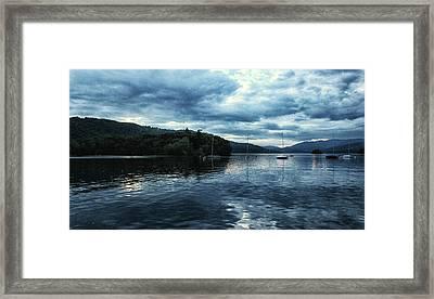 Lake Windermere Reflections Framed Print